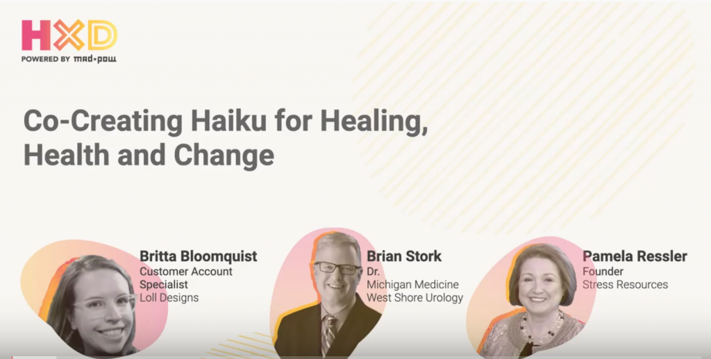Haiku for healing