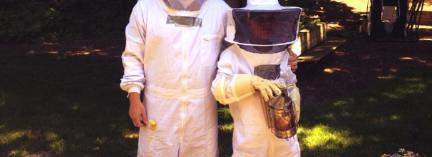Dr. Brian Stork and Son Beekeepers