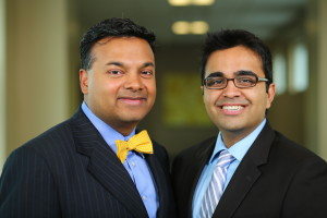 Dr. Sijo J. Parekattil and Dr. Jamin Brahmbhatt of Drive for Men's Health