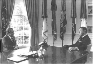 President Nixon and Grandfather