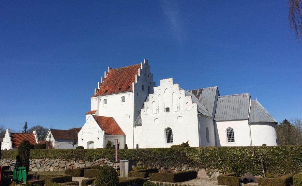 St. Michael's Church in Sanderum, Denmark