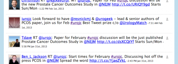 Tweetchat featuring #UROJC