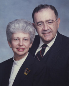 Dr. Edna M. Hoffman and Dr. Charles A. Hoffman, Jr.