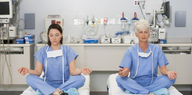mindfulness physicians nurses